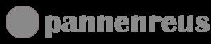 Lichtgrijs logo voor in de footer