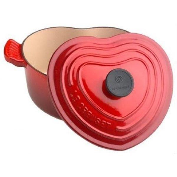 LE CREUSET - Signature - Braadpan hart Rood