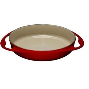 LE CREUSET - Gietijzer - Tatin-taartvorm 25cm Rood
