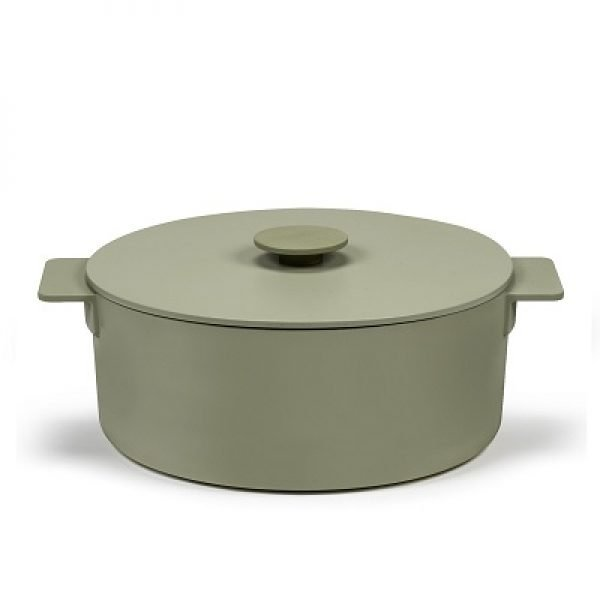 SERAX - Surface - Braadpan groen 29cm h14 5
