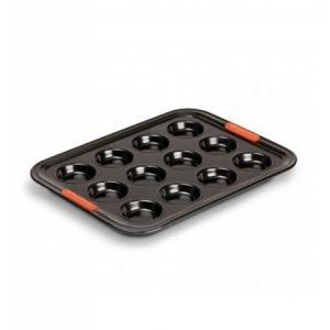LE CREUSET - Patiliss - Bakvorm 12 muffins 34cm Zwart