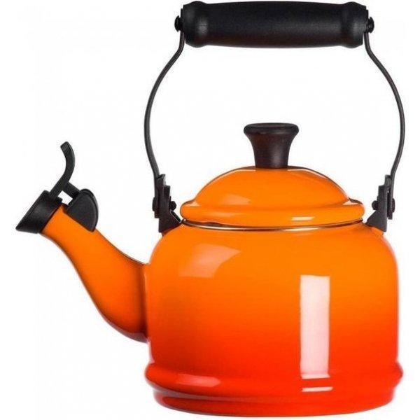 LE CREUSET - Demi - Fluitketel Oranj 1