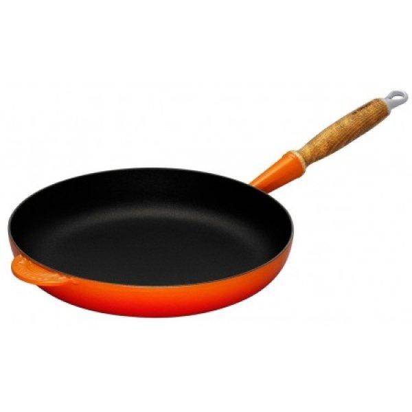 LE CREUSET - Gietijzer - Koekenpan 24cm oranje