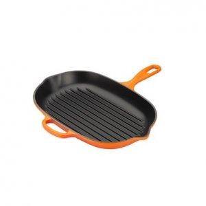 LE CREUSET - Grills - Ovale Grillpan 32cm Oranje