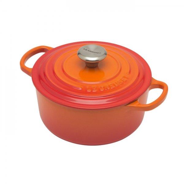 LE CREUSET - Signature - Braadpan 18cm Oranje-rood