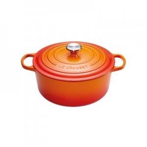 LE CREUSET - Signature - Braadpan 24cm Oranje