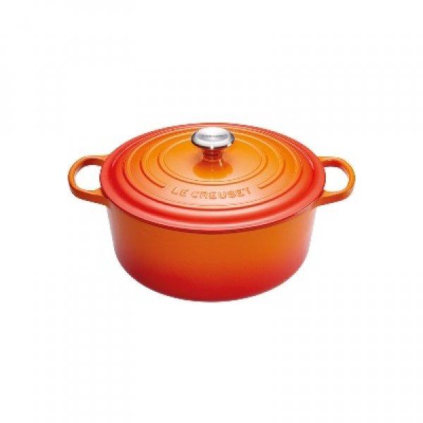 LE CREUSET - Signature - Braadpan 20cm Oranje-rood