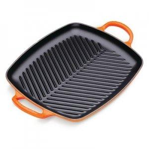 LE CREUSET - Grills - Grill 2 grepen 30cm Oranje