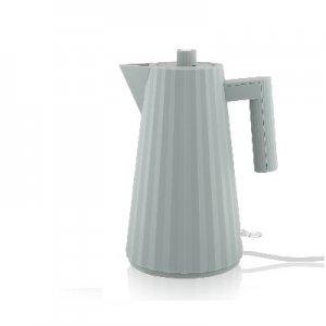 ALESSI - Plisse - Electrische Waterkoker grijs