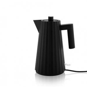 ALESSI - Plisse - Electrische Waterkoker zwart