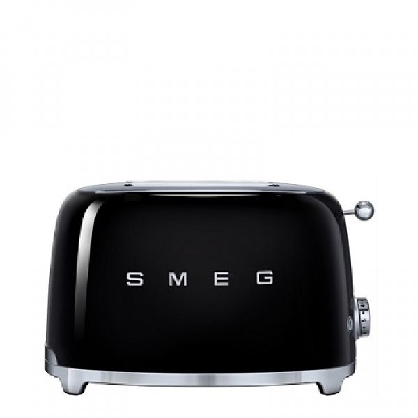 SMEG - Broodrooster - TSF01BLEU Broodrooster 2x2 Zwart