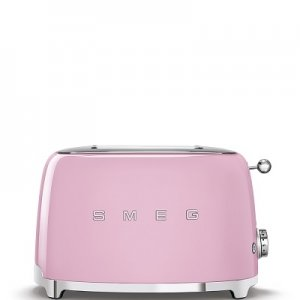 SMEG - Broodrooster - TSF01PKEU Broodrooster 2x2 Roze