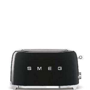 SMEG - Broodrooster - TSF02BLEU Broodrooster 2x4 Zwart