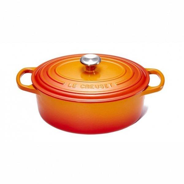 LE CREUSET - Signature - Braadpan 31cm Oranjerood