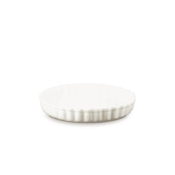 LE CREUSET - Aardewerk - Aardewerken taartvorm Meringue 28cm