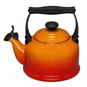 LE CREUSET - Tradition - Fluitketel 2.1l oranje