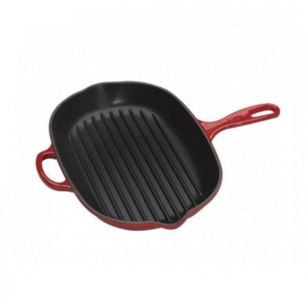 LE CREUSET - Grills - Ovale Grillpan 32cm Kersenrood