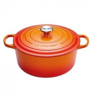 LE CREUSET - Signature - Braadpan 26cm Oranje-rood