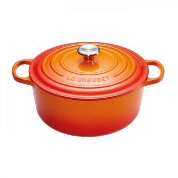 LE CREUSET - Signature - Braadpan 28cm Oranje-rood