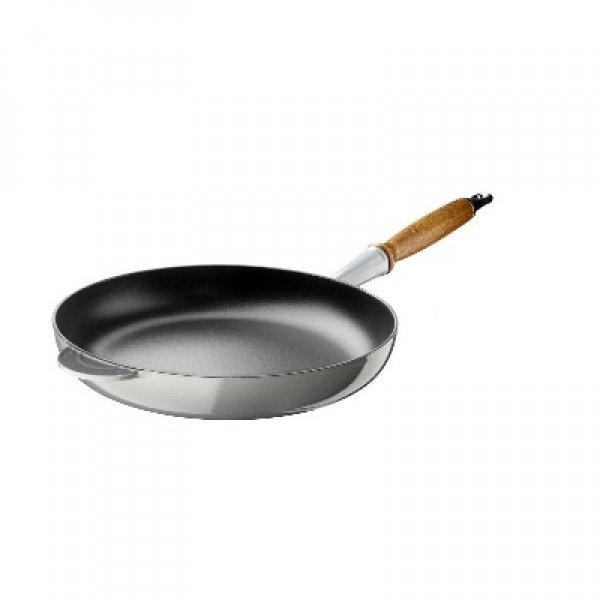 LE CREUSET - Gietijzer - Koekenpan 28cm Mist Grey