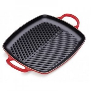 LE CREUSET - Grills - Grill 2 grepen 30cm Rood