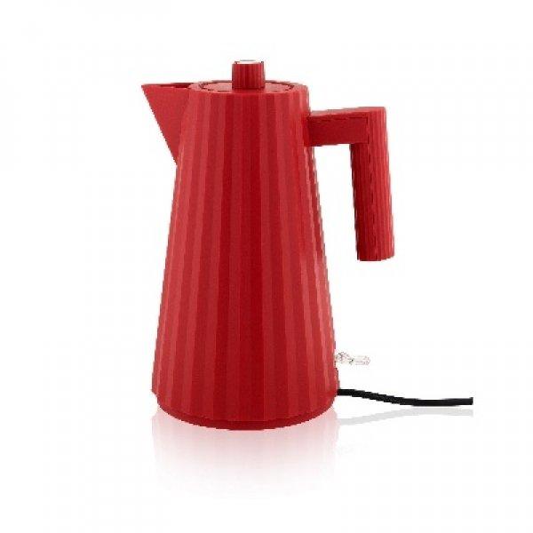 ALESSI - Plisse - Electrische Waterkoker rood