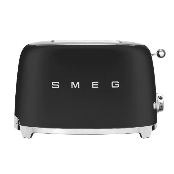 SMEG - Broodrooster - Broodrooster 2x2 Mat Zwart