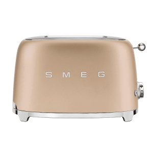 SMEG - Broodrooster - Broodrooster 2x2 Mat Champagne